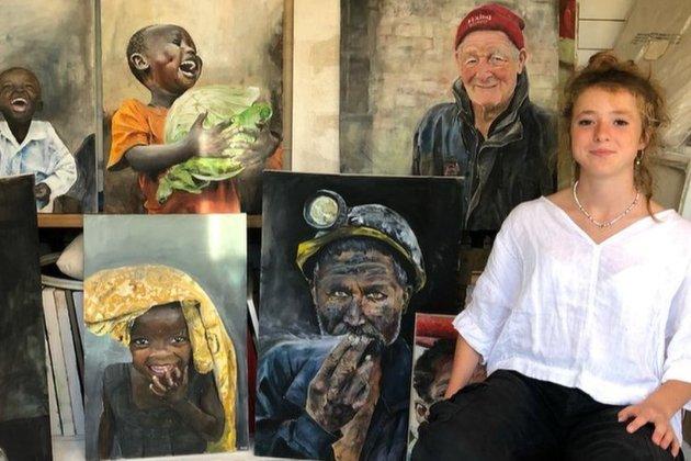 14-річна художниця почала малювати під час локдауну, а зараз їй пропонують тисячі доларів за картини