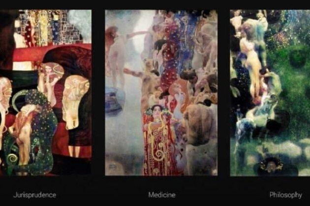 Штучний інтелект відновив картини Густава Клімта, які згоріли під час Другої світової війни (фото)