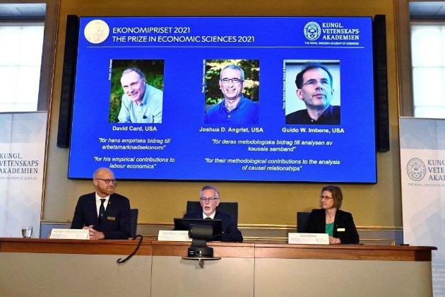 Нобелівську премію з економіки за 2021 рік отримали три американські дослідники