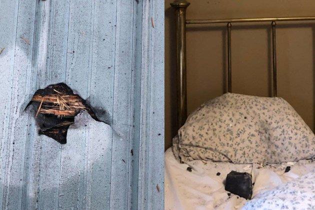 «Все лицо покрыто обломками». На кровать жительницы Канады посреди ночи упал метеорит