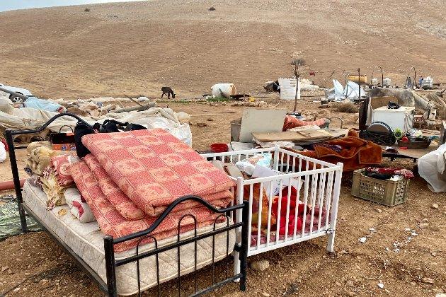 ООН повідомляє, що ізраїльські сили знищили палестинське селище й залишили бездомними 41 дитину