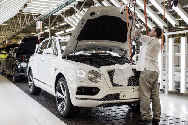 Bentley планує до 2035 року повністю перейти на виробництво електрокарів