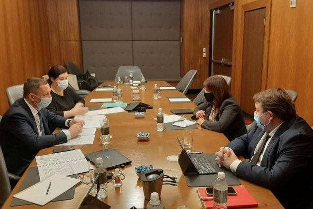 Голова НБУ у Вашингтоні запевнив МВФ у відданості умовам програми stand-by