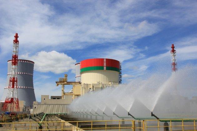 На першому енергоблоці Білоруської АЕС, яку урочисто відкривав Лукашенко, сталася несправність