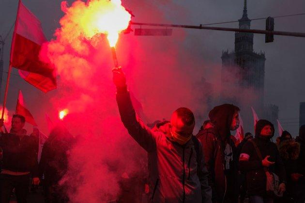 Марш незалежності у Варшаві закінчився сутичками із поліцією