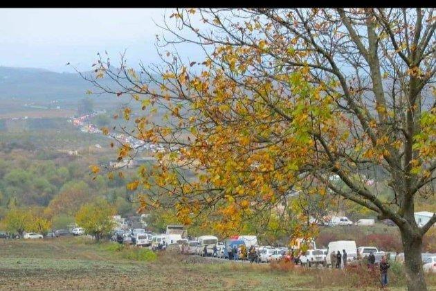 Російські миротворці увійшли до міста Степанакерт у Нагірному Карабасі