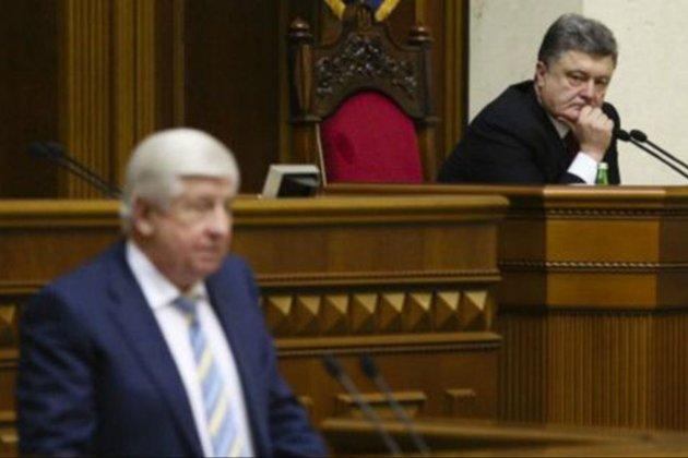 Шокін розповів, як на нього тиснув Порошенко щодо розслідування, пов'язаного з Байденом