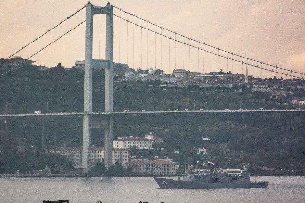 ВМС Єгипту вперше відправили бойові кораблі в Чорне море