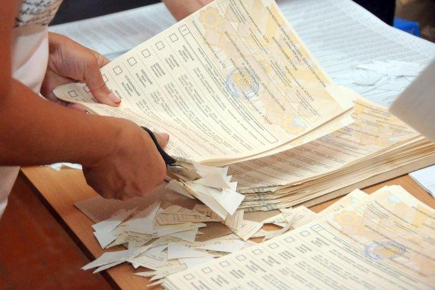 ЦВК опублікувала рейтинг партій, які взяли найбільше мандатів на виборах
