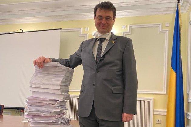 Гетманцев написав гумористичний проєкт постанови про власне звільнення