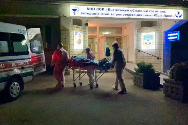 Під Львовом стався вибух у медзакладі, де лікують COVID-хворих