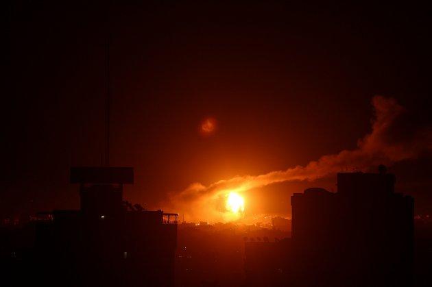 Ізраїль вразив військові об'єкти ХАМАС у секторі Газа