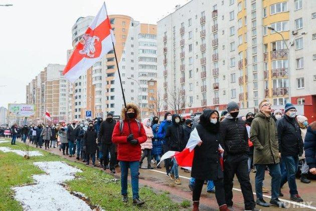 У Білорусі — «Марш проти фашизму». Нова тактика активістів — відсутність єдиної точки збору
