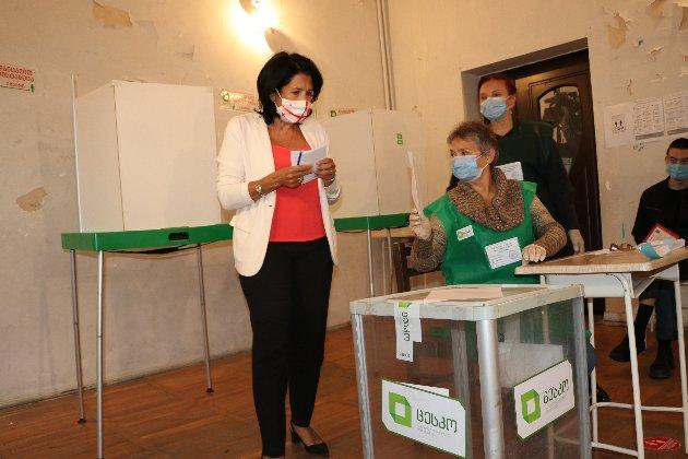 У Грузії підрахували голоси другого туру парламентських виборів, перемогла правляча партія