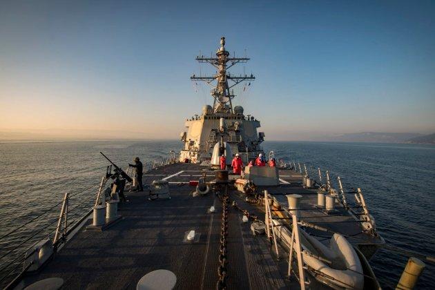 Американський ракетний есмінець Donald Cook взяв курс на Чорне море