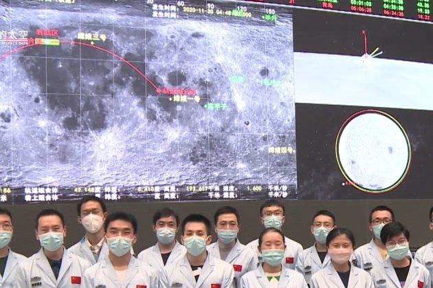 Китайська автоматична станція Chang'e 5 досягла Місяця і готується до посадки