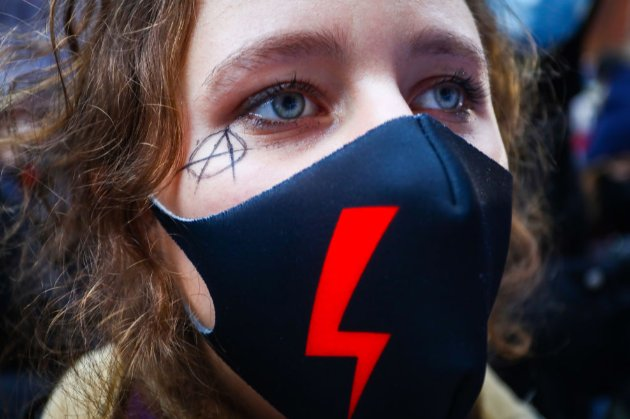 У Польщі знову протестували проти посилення законодавства щодо абортів