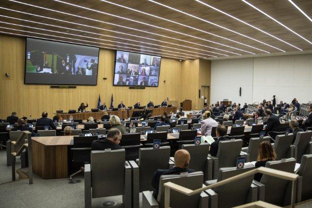 Керівники НАТО обурилися діями Росії щодо України, порушеннями міжнародного права та цілісності країн