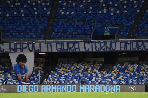 Священники Неаполя обурились новою назвою місцевого стадіону. Його перейменували на честь Дієго Марадони