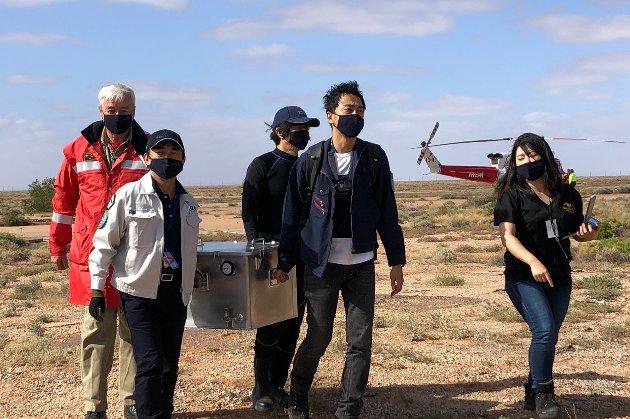 Японський зонд доставив на Землю зразки астероїда