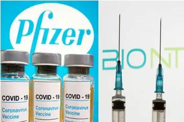Британські чиновники попередили про алергічні реакції на вакцину Pfizer/BioNTech