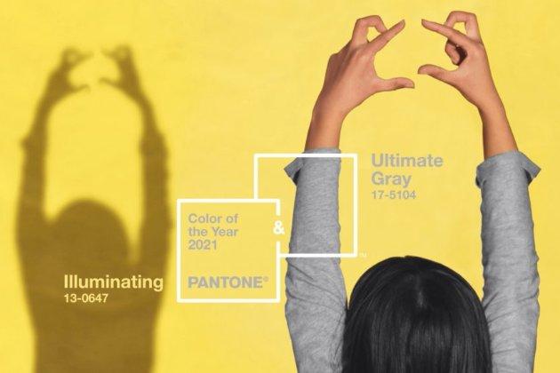 Інститут кольору назвав найактуальніші відтінки 2021 року. Це природні «жовтий, що освітлює» та «абсолютний сірий»