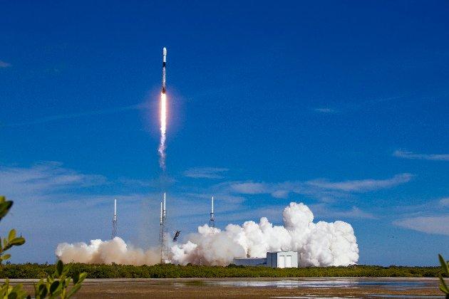 SpaceX усьоме запустила одну й ту саму багаторазову ракету за рекордно короткий час