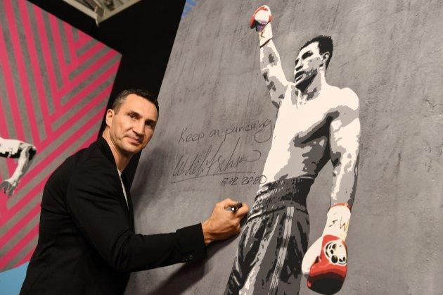 Володимира Кличка обрали до Міжнародного залу боксерської слави