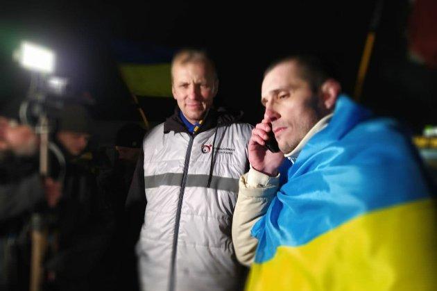 Політв'язень Шумков повернувся до України