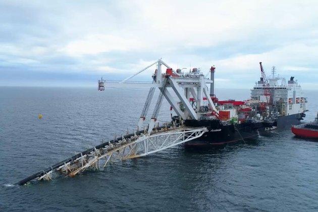 Санкції — не перепона. У водах Німеччини проклали чергову ділянку «Північного потоку-2»