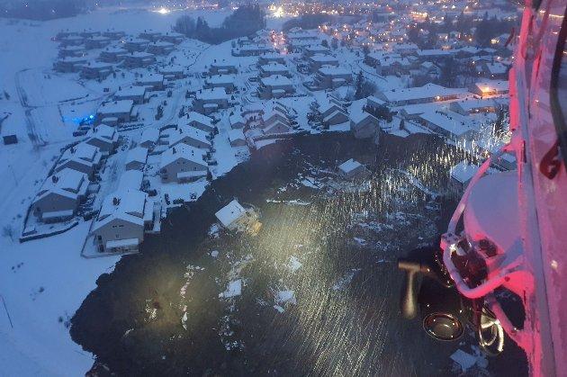 У Норвегії через сильний зсув ґрунту евакуювали понад 500 людей