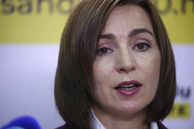 Санду хоче обговорити з Путіним придністровський конфлікт