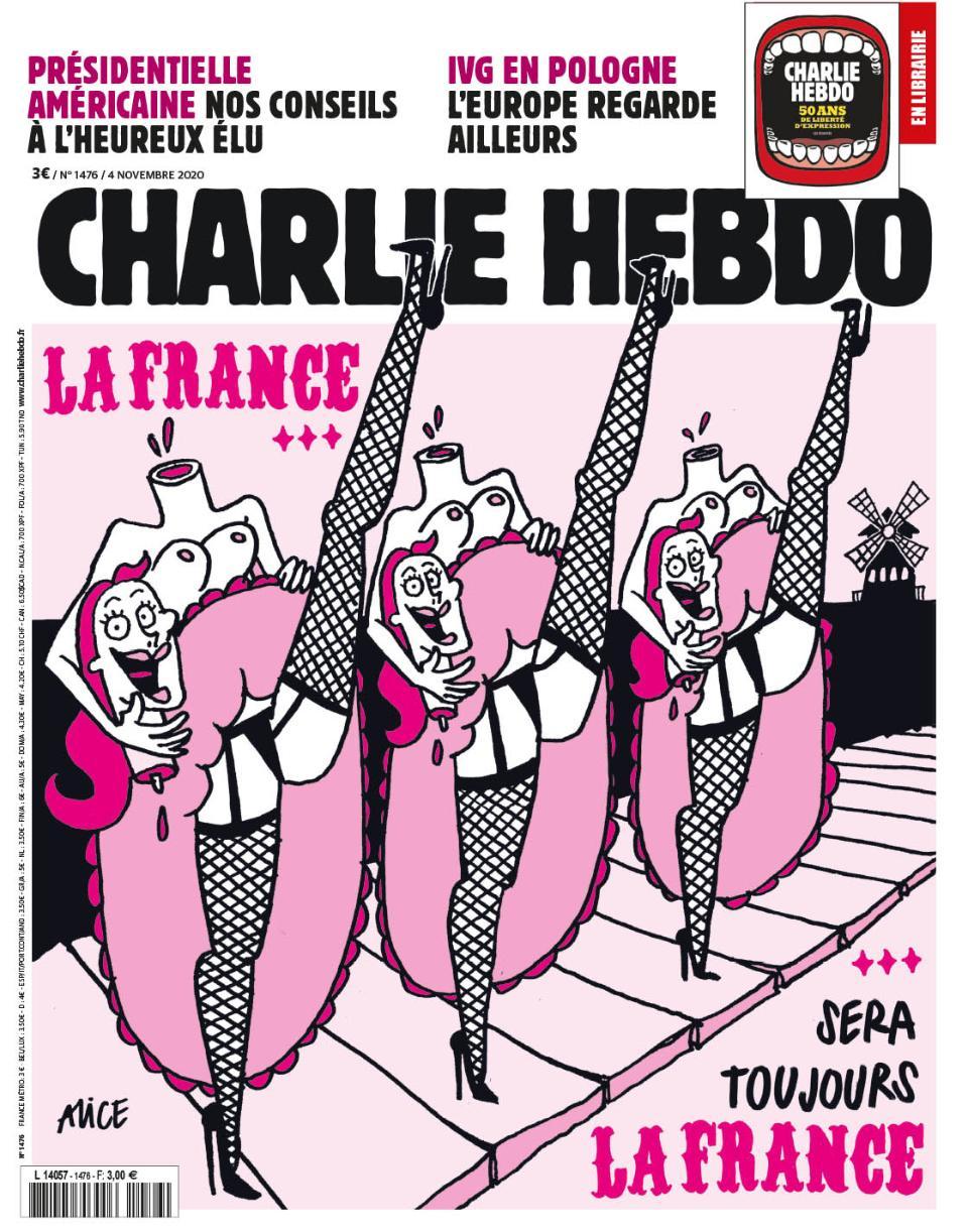 Обкладинка нового номеру Charlie Hebdo