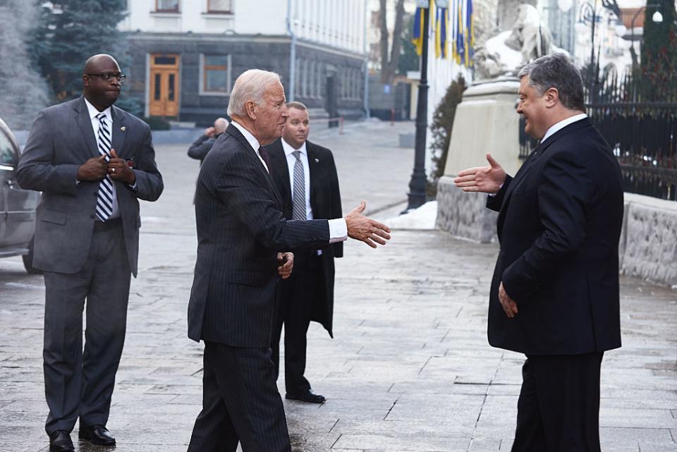 Байден часто відвідував Київ за часів віцепрезидентства / Getty images