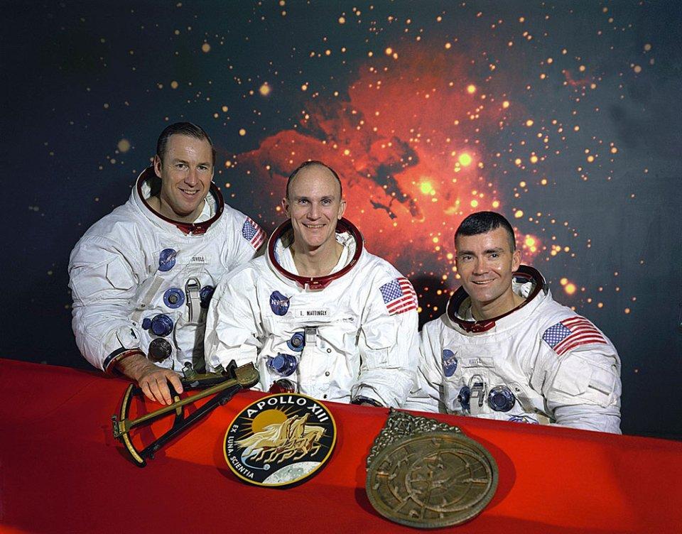 Астронавти місії «Аполлон-13»