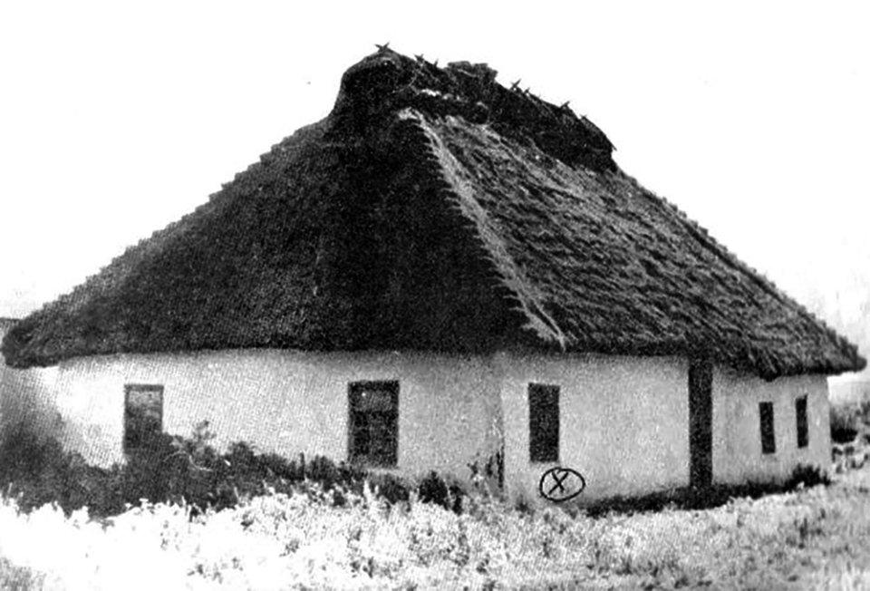 Будинок у Марківці, де загинув Микола Леонтович / Вінницький обласний краєзнавчий музей