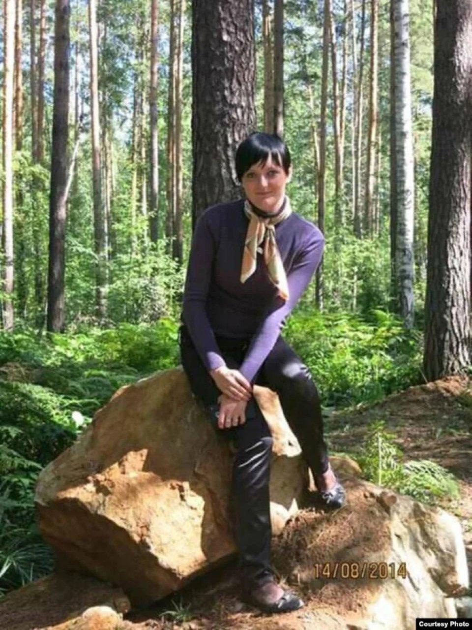 Вікторія Котеленець на Уралі влітку 2014-го / відкриті джерела