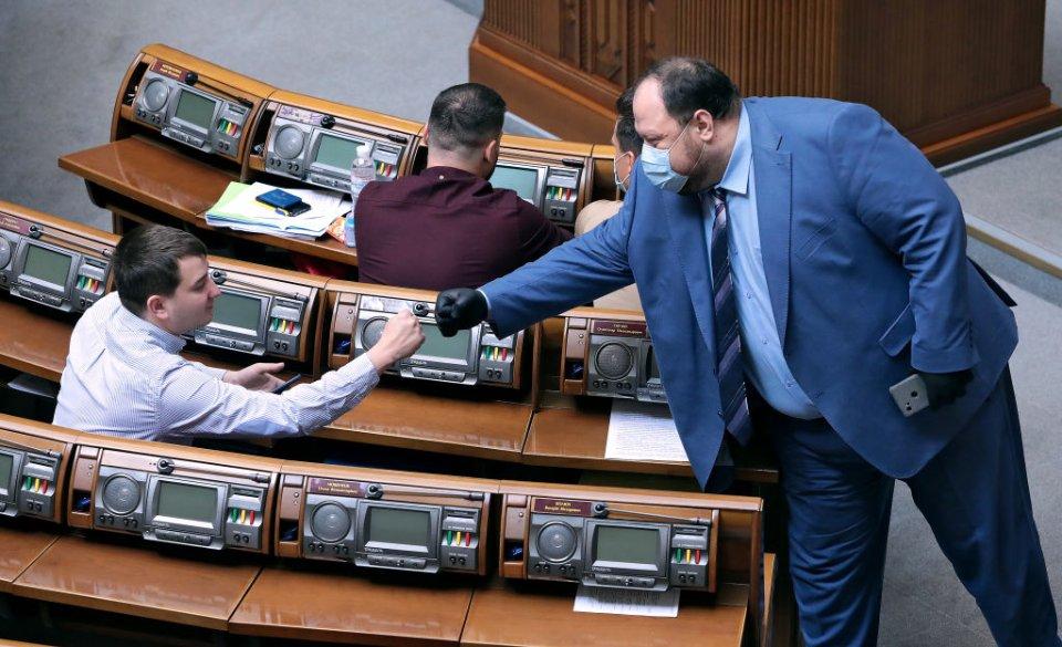 Одним з кандидатів на посаду спікера ВР називають Руслана Стефанчука / Getty images