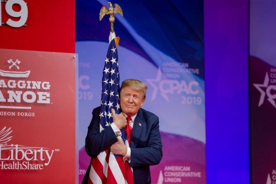 Дональд Трамп залишиться в історії, як 45-й президент США / Getty images