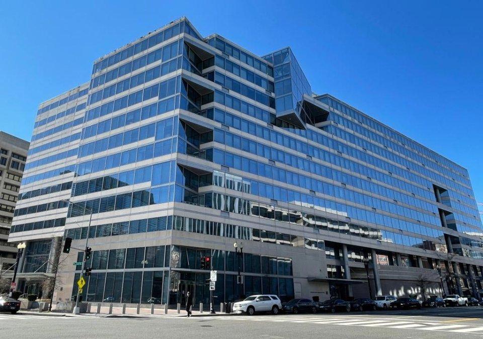 Будівля головного офісу МВФ у Вашингтоні / GettyImages