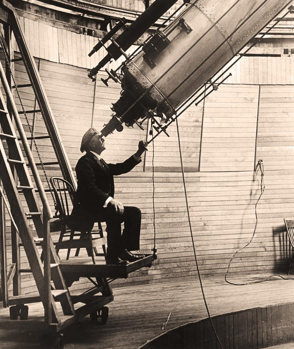 Персіваль Лоуелл у власної обсерваторії в Аризоні