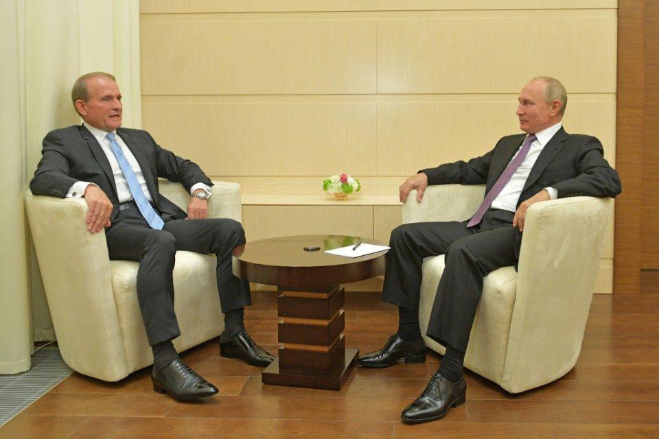 Санкції проти Медведчука — сигнал як для Вашингтону, так і для Москви / Getty images