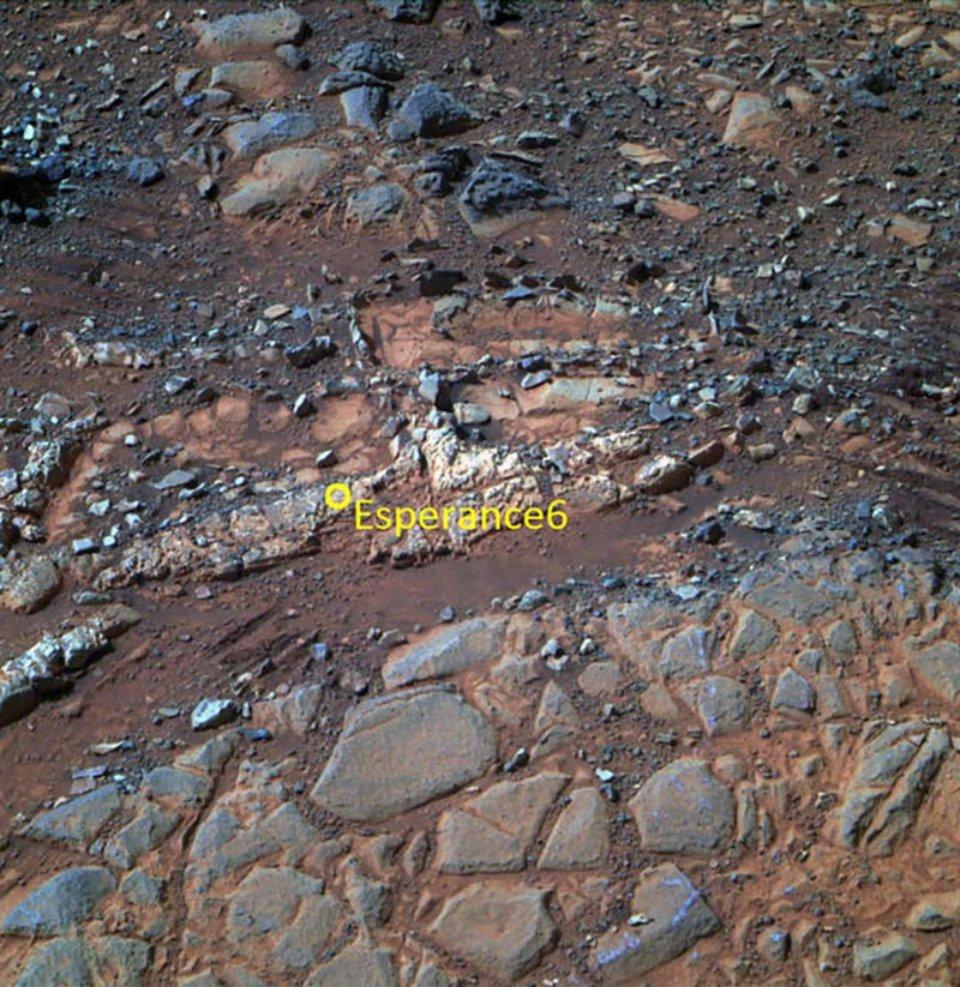 Камінь Esperance колись міг бути «сусідом» марсіанського життя