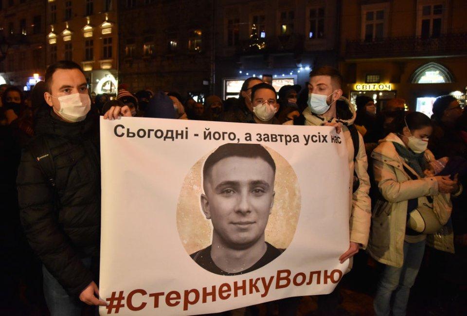 Протести проти ув'язнення Стерненка / Getty images