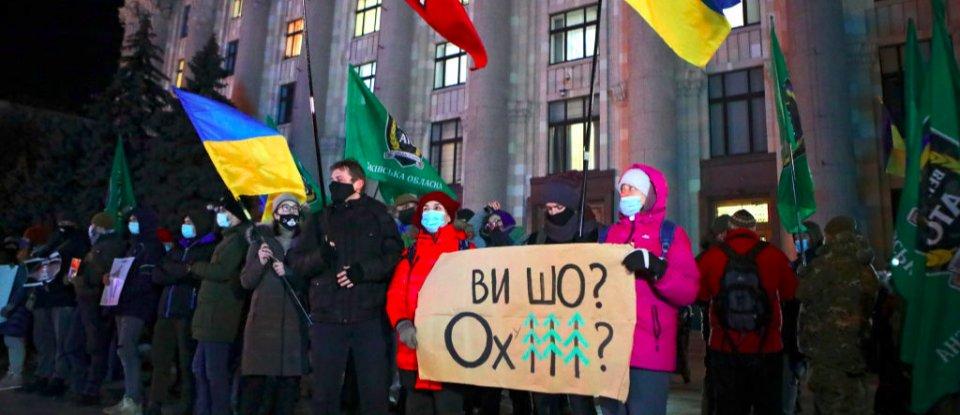 Все буде Україна. Вирок Стерненку викликає масштабні акції протесту