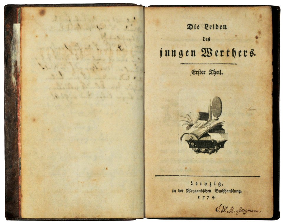 Той самий роман Гете / Wikipedia