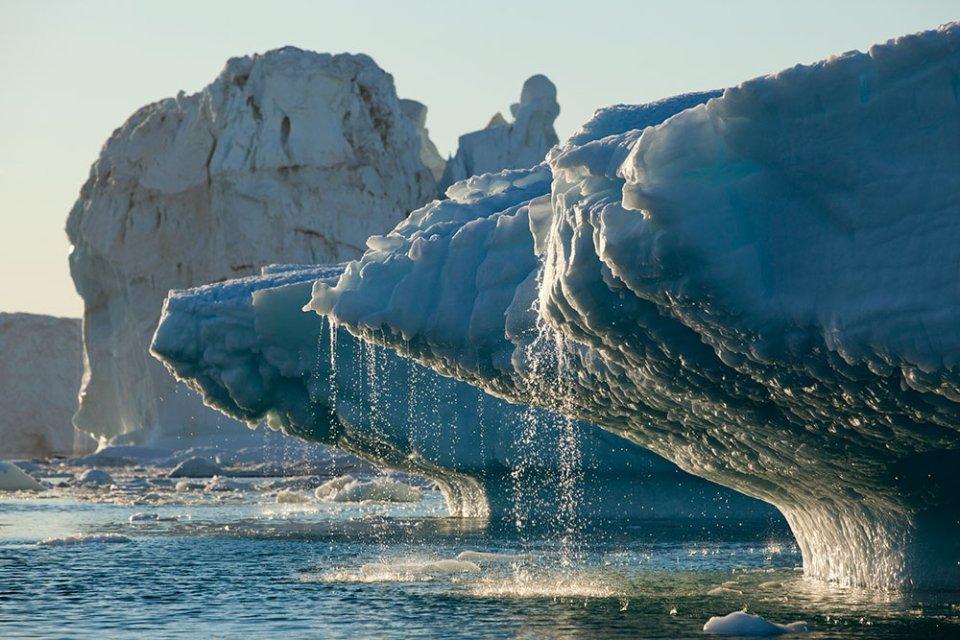 У 2019-му році Гренландія втратила 532 млрд тонн льоду / GettyImages
