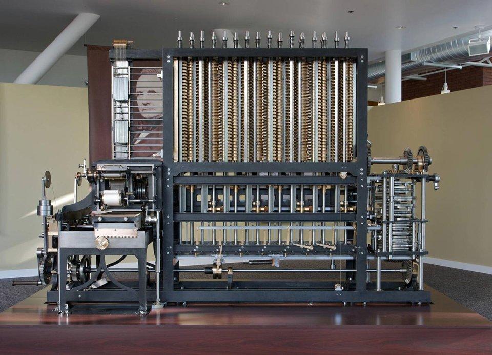 Нащадки добудували різницеву машину Беббіджа, і тепер вона зберігається у лондонському Музеї науки