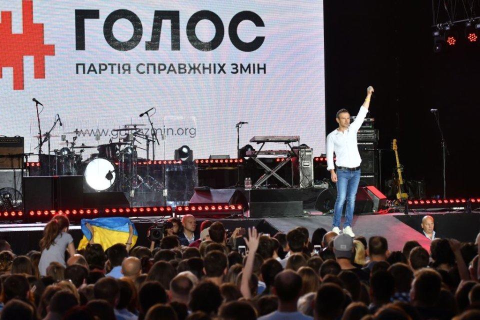 Партія так і не змогла оговтатися після уходу Святослава Вакарчука / Getty images