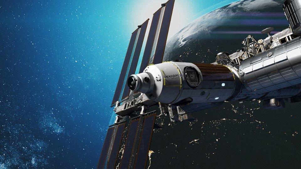 Так буде виглядати приватна космічна станція Axiom